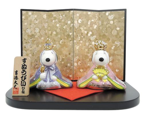 スヌーピー&ベル雛人形